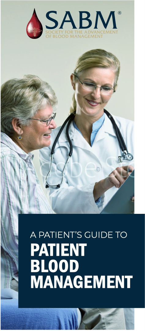 A Patient's Guide to Patient Blood Management